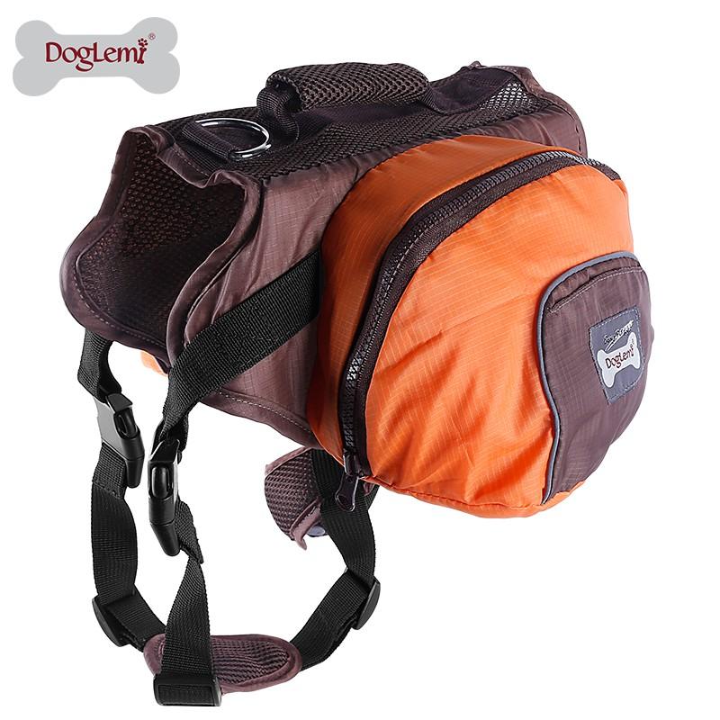 Large and medium sized pet backpack big dog go out backpack golden schoolbag Labrador dog carrying case large