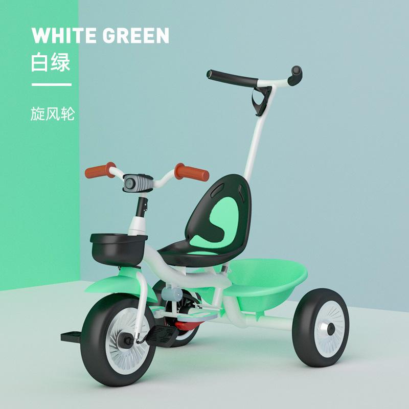 金鸣三轮车1-3-6岁宝宝线上脚踏车