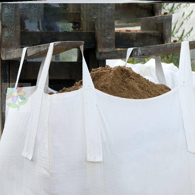 Express bag sling thickened ton bag consignment seal custom flat bottom bridge aerial crane bag ring large size