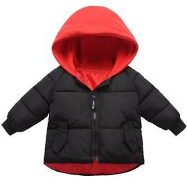 80*90*120*100*110儿童羽绒棉服男童女童宝宝130一米140m棉衣冬季