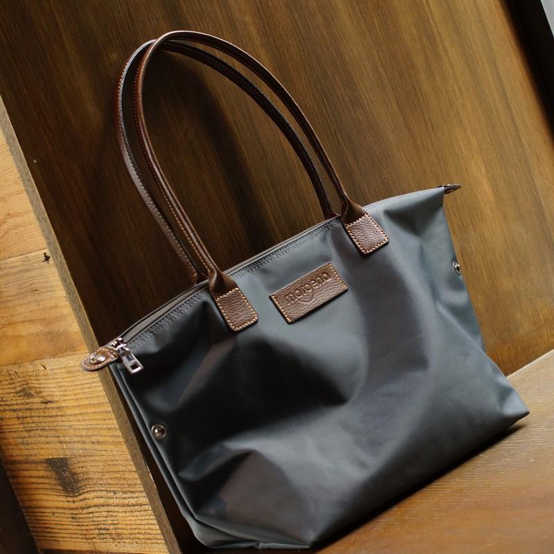 Tot dumpling bag folding big bag beach bag mens and womens nylon bag Commuter Bag one shoulder backpack women