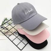 迪卡侬帽子ins新款日系休闲百搭软顶字母棒球帽男女复古春夏天鸭
