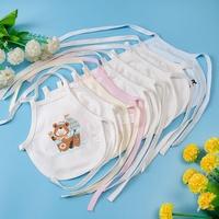 婴儿纯棉肚兜刚出生男女宝宝春夏秋冬款新生儿用品护肚围系带兜兜