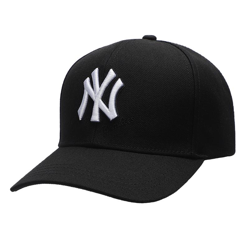 MLB洋基队男女帽子NY/LA情侣户外运动休闲帽遮阳透气鸭舌帽棒球帽