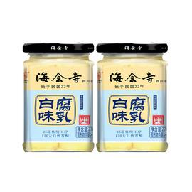 海会寺白味腐乳270gx2瓶 四川特产霉豆腐乳喝粥下饭菜农家臭豆腐