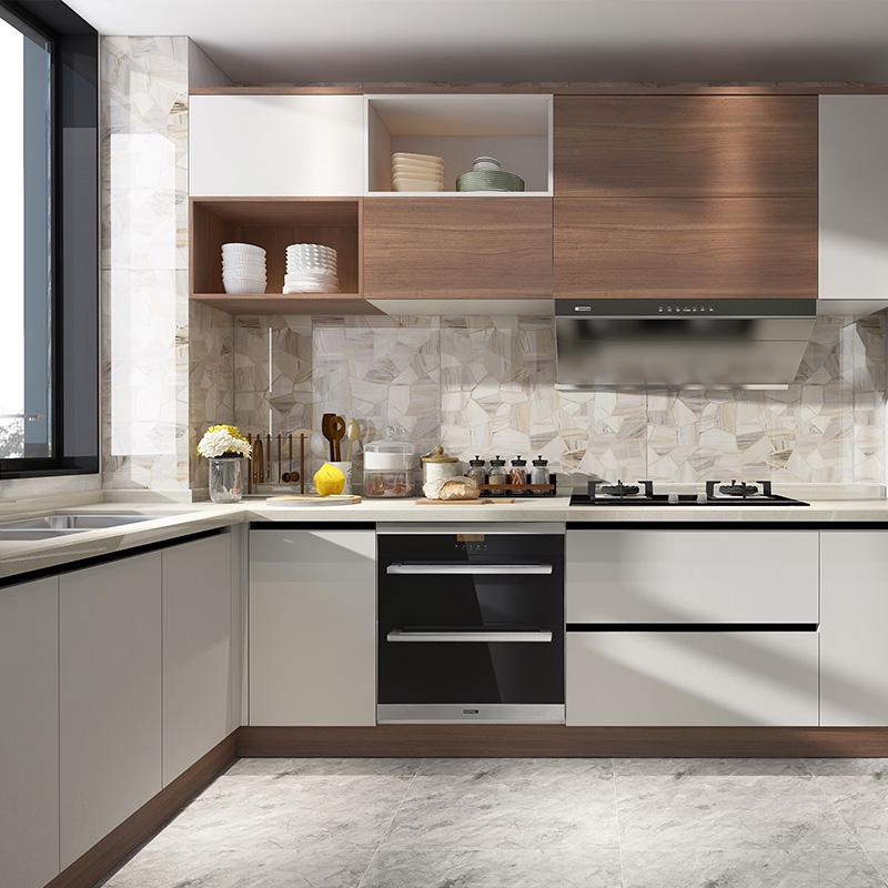 欧派全屋定制新房装修全包厨房橱柜定制整体橱柜定制石英石台面