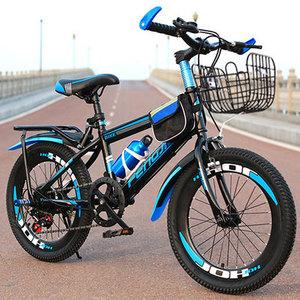 停车车胎普通蓝色童年老款外胎家用小男孩装备儿童单车3岁车身