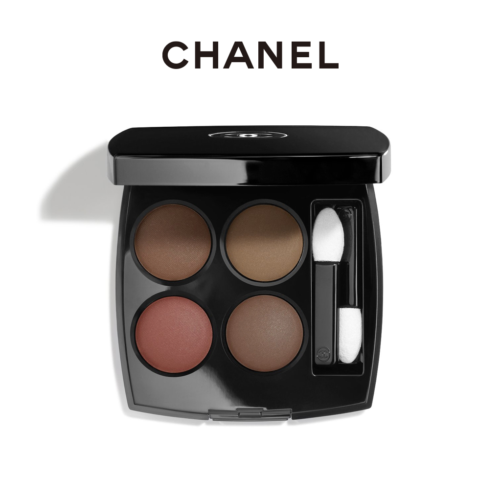 Official authentic CHANEL Chanel four-color eyeshadow matte earth color hold makeup 268 308