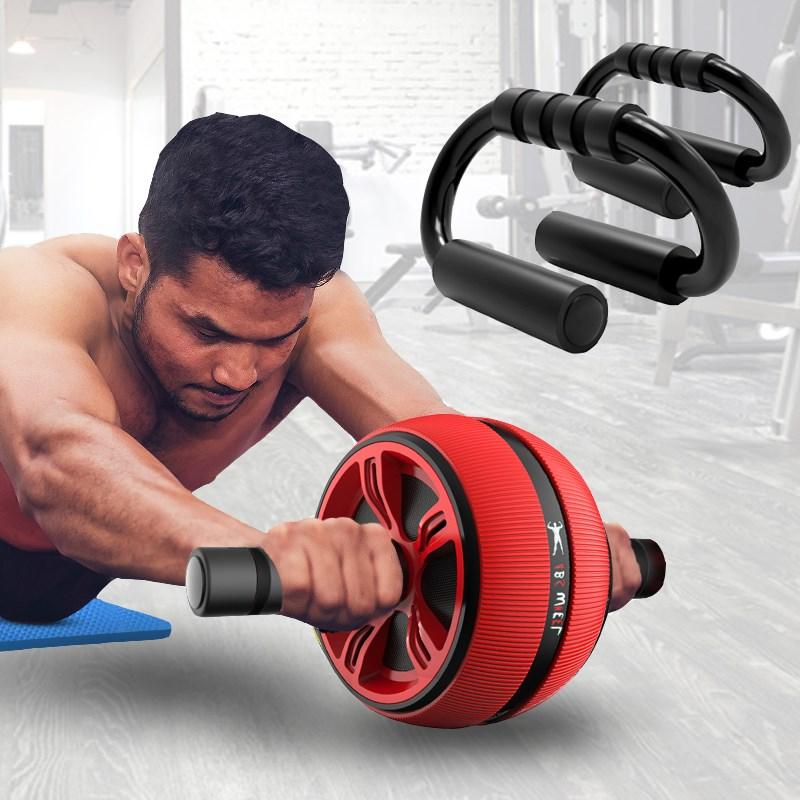 专用防滑减小腹瘦肚子神器男士健身器弹性体育塑身训练滑轮套装