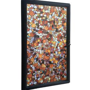 马赛克窗贴卫生间玻璃贴纸窗户贴纸