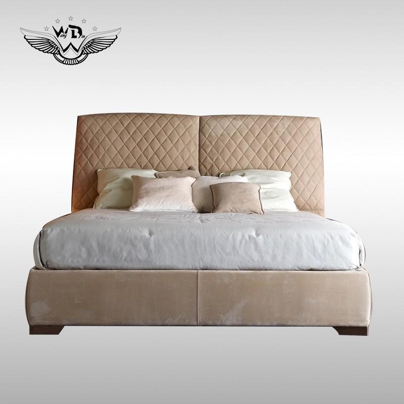 rafamariner高端定制家具RUGIANO意大利后现代轻奢卧室布艺皮革床