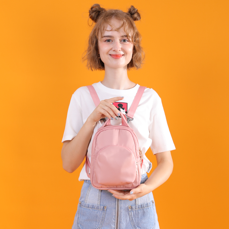 Ibuw small backpack womens backpack fan small bag versatile little fresh girl 2019 new ultra lightweight Mini Bag