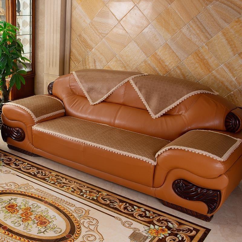 限8000张券实木红木沙发夏季冰丝凉席四季椅垫