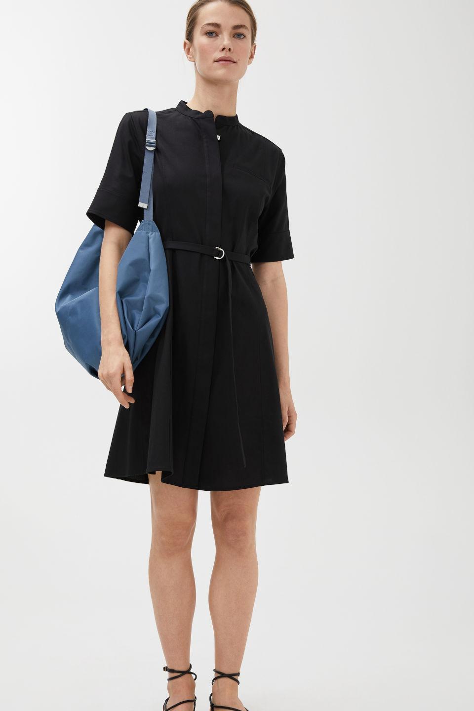 英国代购 ARKET Stretch Twill Mini Dress斜纹迷你连衣裙Q