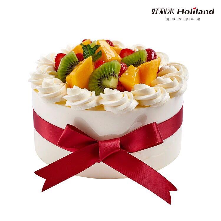 好利来生日蛋糕同城配送天然奶油蛋糕济南苏州张家口丹东张家港市