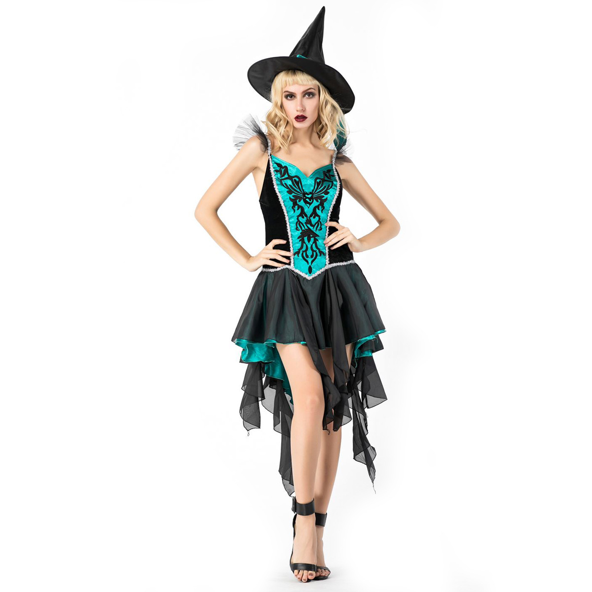 Witches, vampires, demons, stage costumes, adult costumes