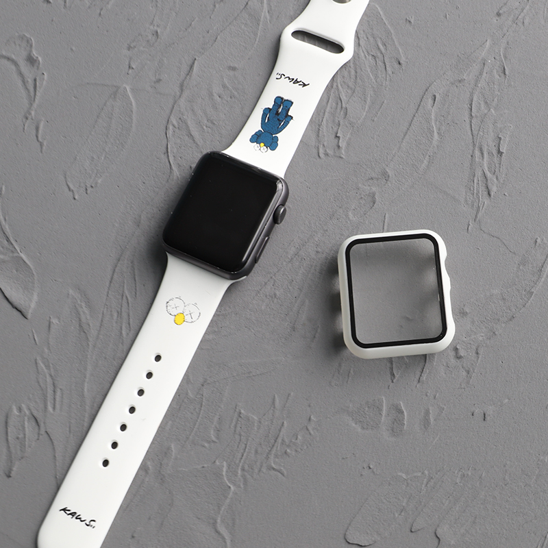 Suitable for Apple watch strap iwatch5 / 4 / 3 generation universal strap creative silicone Apple watch strap