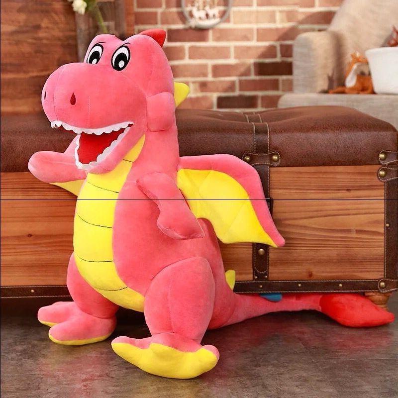 霸王龙公仔恐龙三角龙毛绒玩具抱枕布娃娃玩偶礼物逗乐