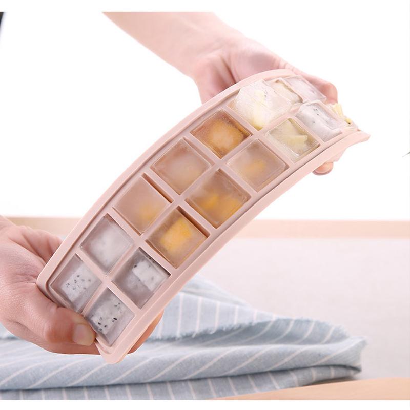 硅胶模具带盖家用自制雪糕制冰盒9.90元包邮