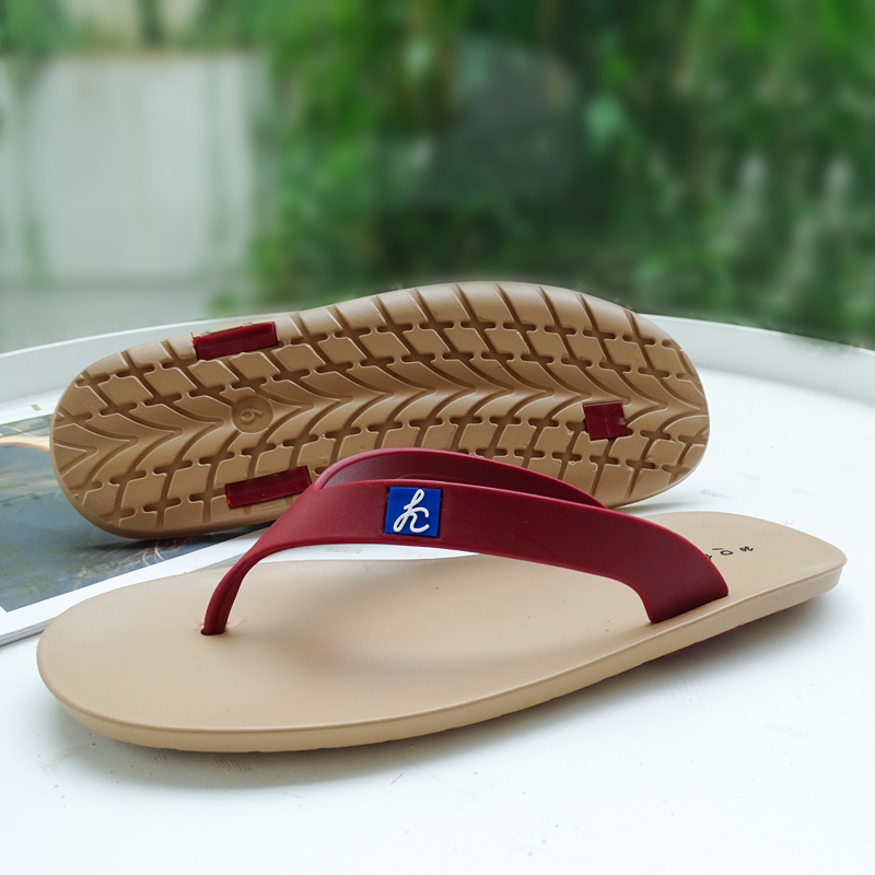 泰国乳胶人字拖男夏轮胎橡胶拖鞋