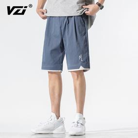 2021男士夏季潮流子宽松休闲五分裤