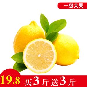 四川安岳黄柠檬6斤一级大果