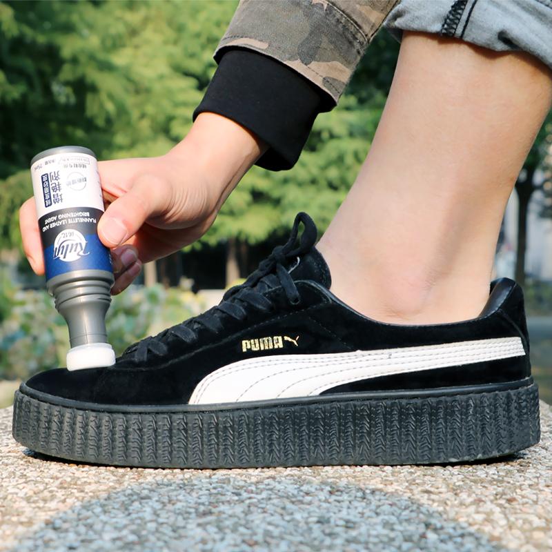 翻毛清洁护理剂麂皮磨砂鞋黑色皮鞋