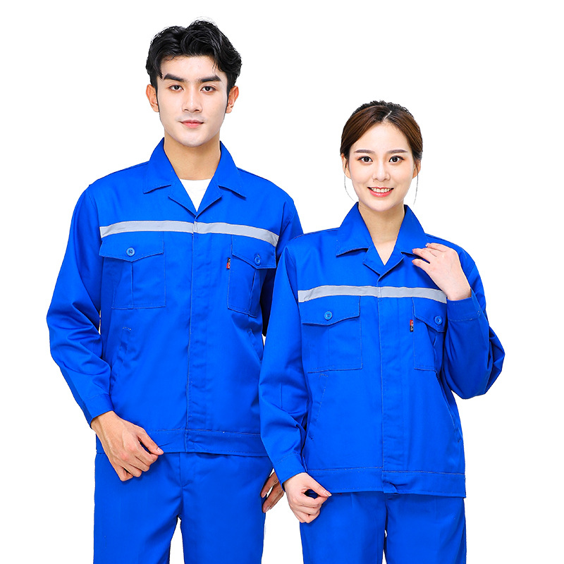 Maintenance gas station work clothes long sleeved autumn and winter clothes gas company gas dispenser uniforms water conservancy electrician clothes supervision