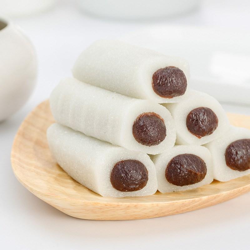 豆沙糕上海传统豆沙糕团条头糕零食小吃软糯米糕点点心手工年糕