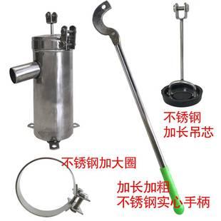 100型加大加厚版 不锈钢摇水泵手动摇水机压水井井头手压泵摇井泵