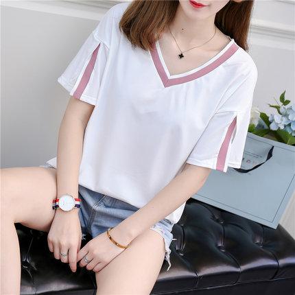 新款韩版宽松显瘦超火的学生t恤