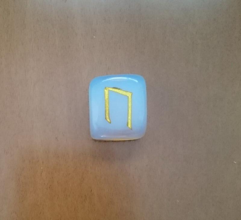 Rune power uruz enhances concentration, strengthens mind and body opal Rune