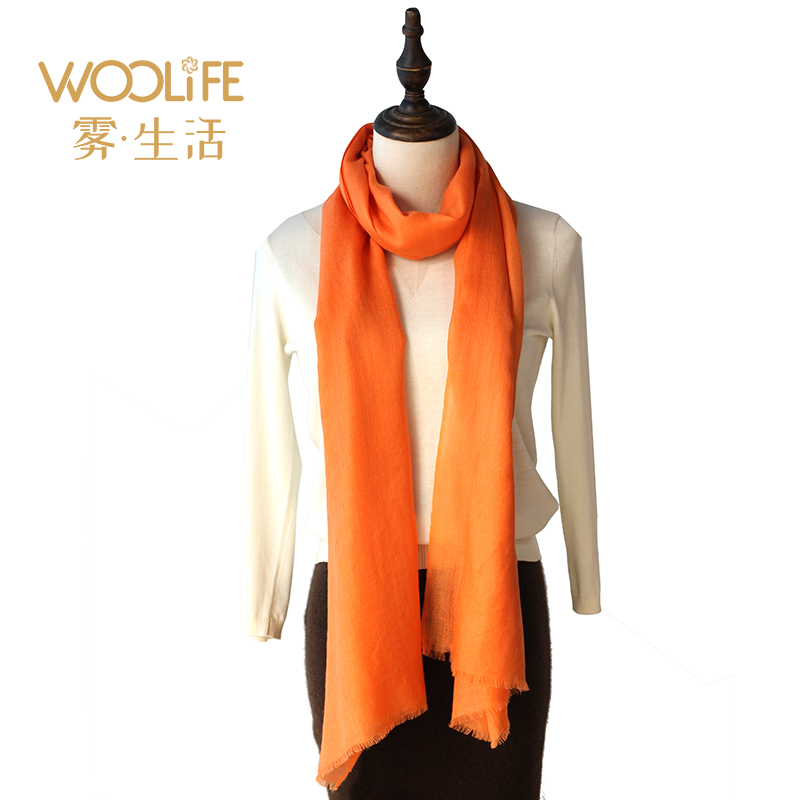 Woolife yak wool scarf female cow hair versatile shawl anti ultraviolet high end neckband for women thin