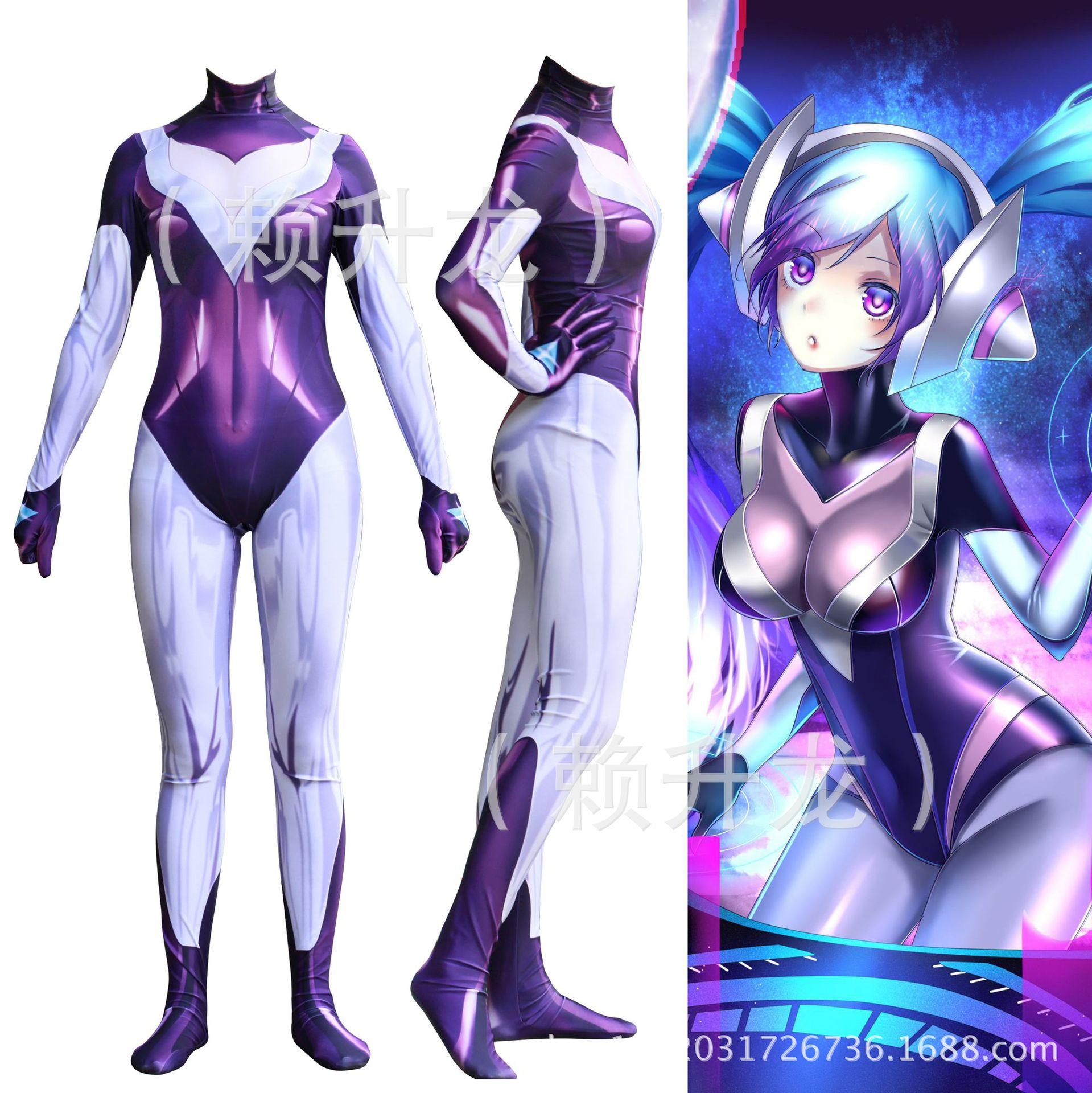 3D spot hero League custom Cosplay role play bodysuit digital Z06