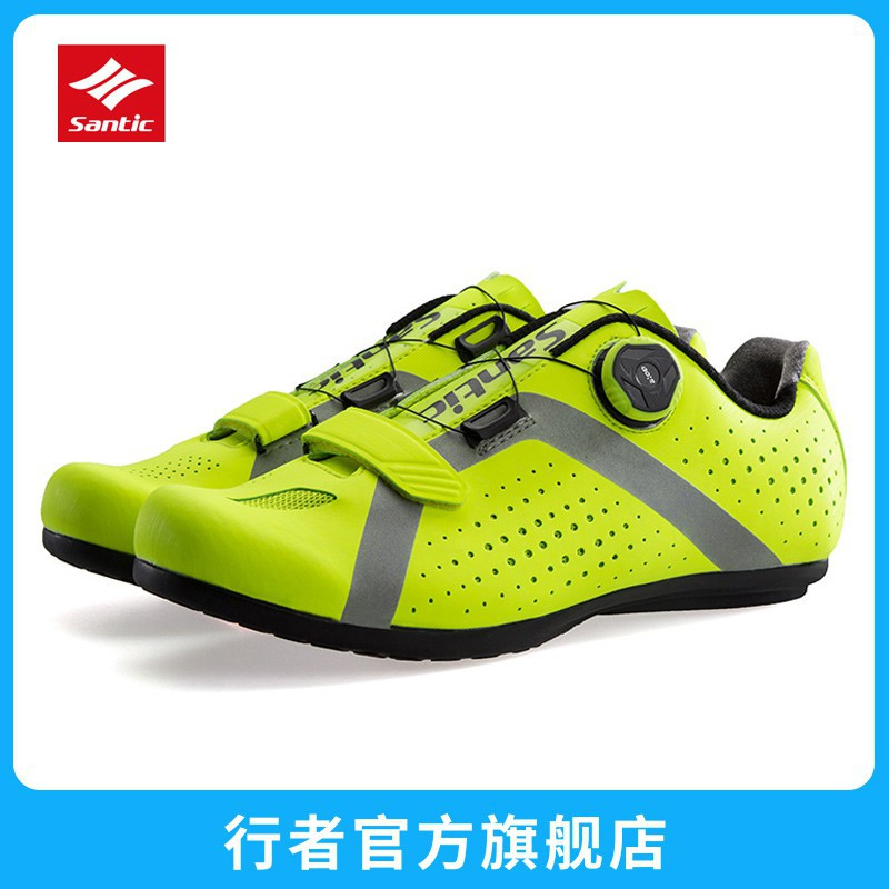 18 new all terrain lockless cycling shoes bicycle non lockable shoes leisure Road