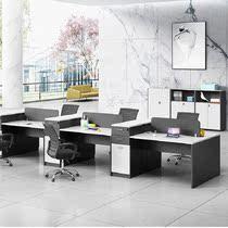 人屏風卡位職員電腦辦公桌642辦公桌椅組合簡約現代職員辦公室