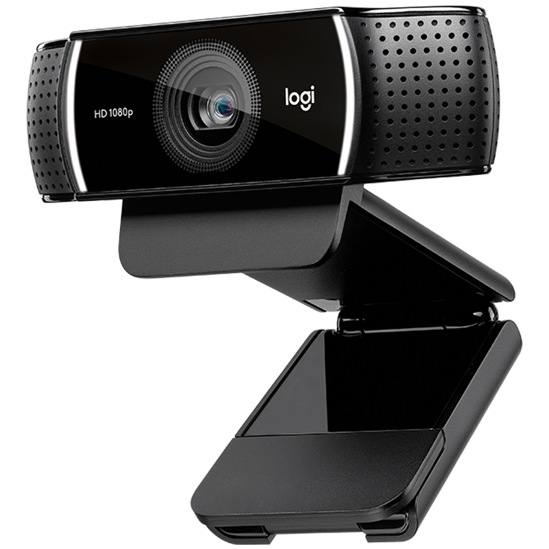 The official flagship store Logitech C922 HD beauty Taobao Kuaishou Douyin live broadcast anchor webcam wide-angle video HD conference class online teaching