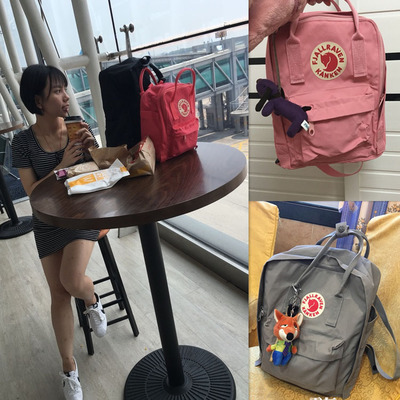 Fjallraven/ арктика лиса рюкзак kanken classic mini движение на открытом воздухе мужской и женщины задний портфель
