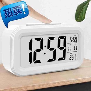 创意学生时钟闹钟时尚静音床头钟表儿童电子钟a家居日用钟饰 7代