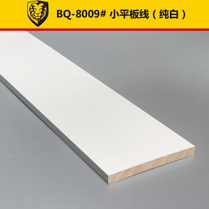 百强实木线条白色石膏装饰木线条