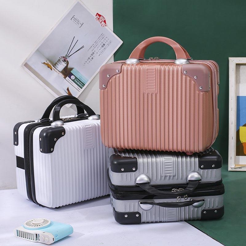 14寸手提行李箱化妆包女小型轻便16密码旅行皮箱证件迷你收纳箱子