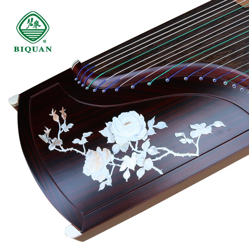 碧泉古筝 黑檀浮雕 儿童成人初学者入门考级专业教学扬州演奏乐器