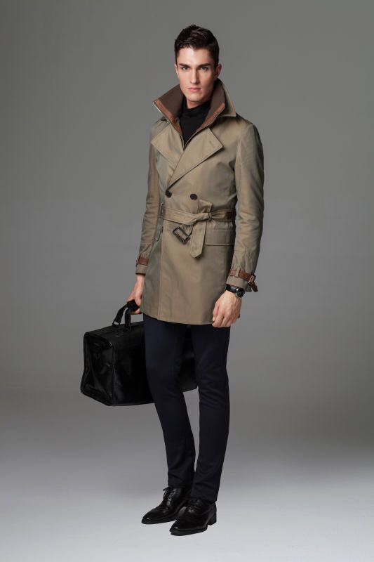 Mens windbreaker Bax Rui leather autumn jacket special price