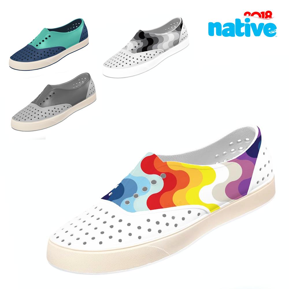 Native Shoes Miller 2018SS正品洞洞鞋 夏男鞋女鞋休闲沙滩凉鞋