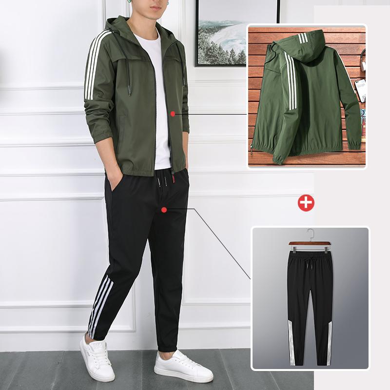 热销8件有赠品男士春秋2018新款韩版潮流帅气夹克