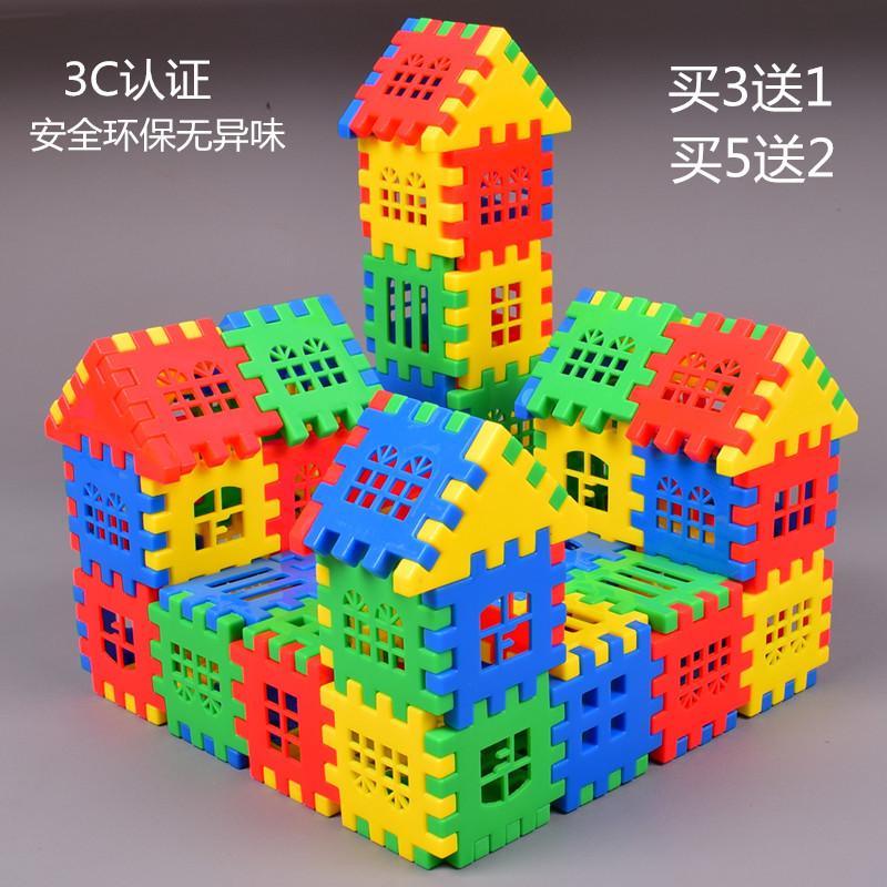 Игрушечные блоки для строительства Артикул 524770355848