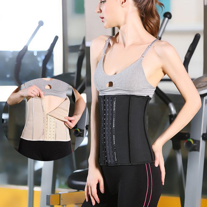 运动女绑带瘦身收腹神器塑形束腰带