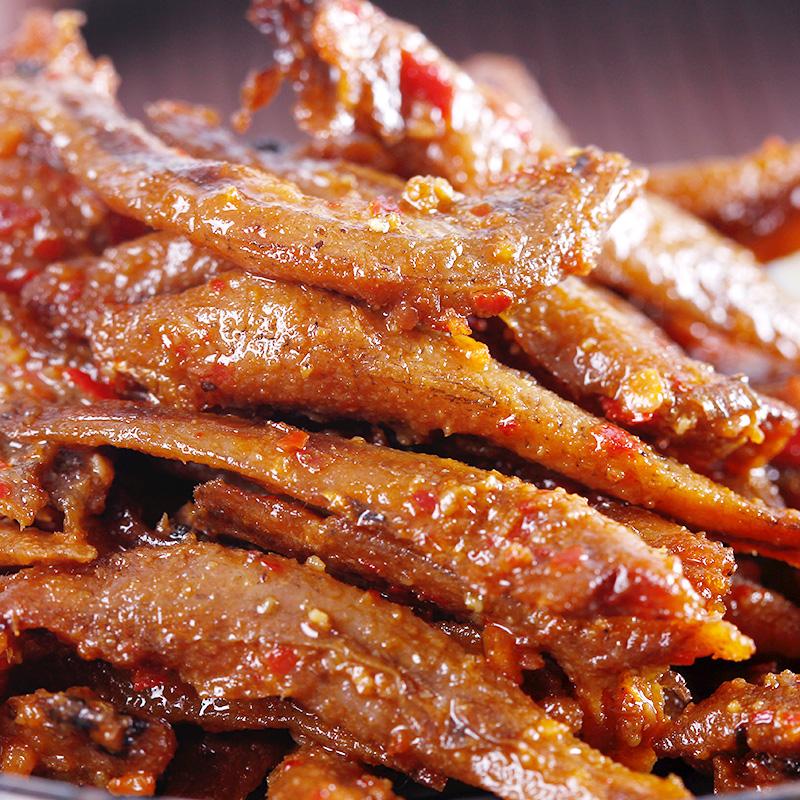 咚咚食品 雲南特產 香辣小魚仔魚幹300g 80後好吃的零食食品