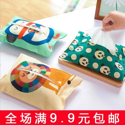 9.9 бесплатная доставка ткань творческий ткань крышка мультики бумажные полотенца крышка насосные полотенце насосные полотенце пакет зал ванная комната тканевый чехол