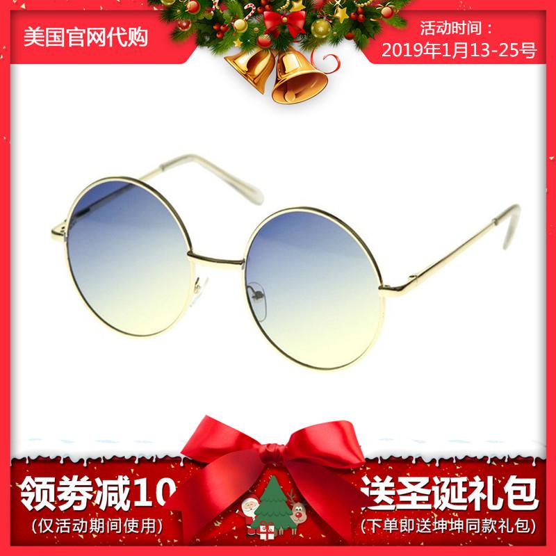 U.S.A sunglass.la Cai Xukun, with round glasses, sunglasses, sunglasses, female stars, and tiktok.